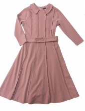 Panelled Teen Dress Mauve L(20
