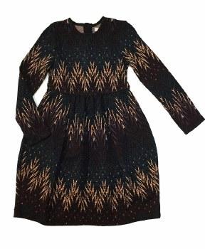 Multi Print Dress Multi 10
