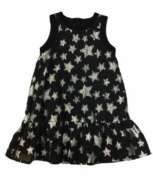 Stars Jumper Silver/Black 5