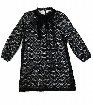 Lace Dress Black/White 4