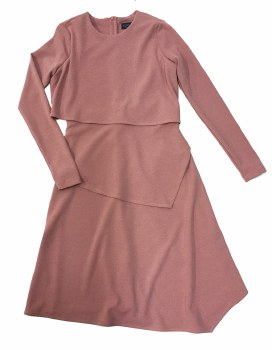 Layered Teen Dress Mauve XL(22
