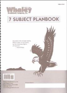 7 Subject Planbook (Item #PB7)