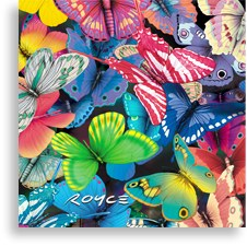 Slide Puzzle 3D Butterfly Magi