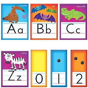 Awesome Animals Alphabet Cards