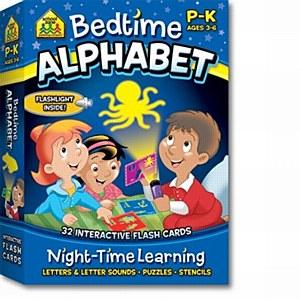 Bedtime Alphabet Flash Cards