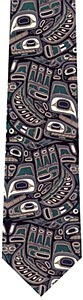 NW Tribal Art Ties