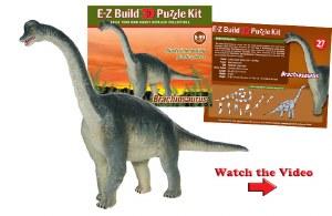 Brachiosaurus E-Z Build 3D Puz