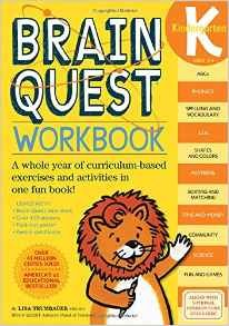 Brain Quest Workbook K
