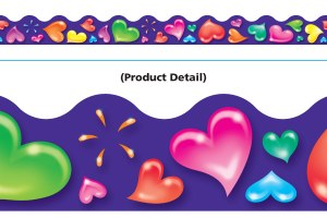 Colorful Hearts Trimmers