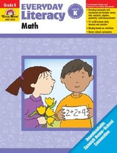 Math Everyday Literacy K
