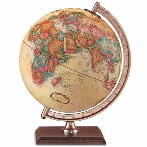"""Forester Antique Globe 9"""""""
