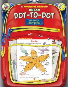 Ocean Dot-to-Dot PreK-1