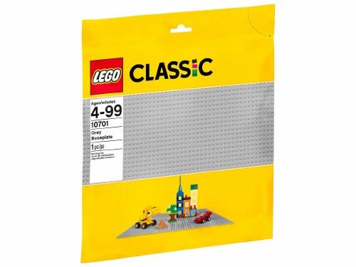 Baseplate Gray 48 x 48 10701