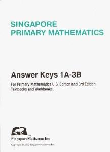 Primary Math 1A-3B Ans Key