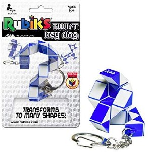 Rubik's Twist Key Ring