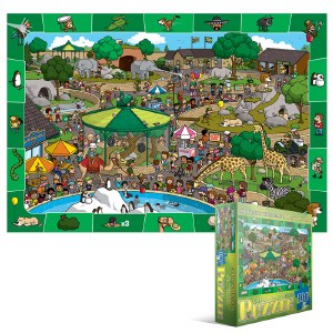 Day in the Zoo 100 pieces