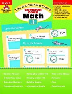 Common Core Math Centers 3