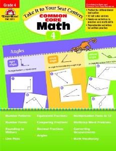 Common Core Math Centers 4