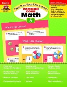 Common Core Math Centers 5