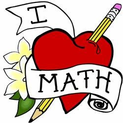 Tattoo I Heart Math Pencil