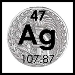 Tattoo Silver Medal  (Ag)