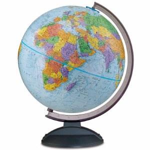 """Traveler Blue Globe 12"""""""