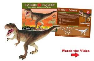 T-Rex E-Z Build 3D Puzzle