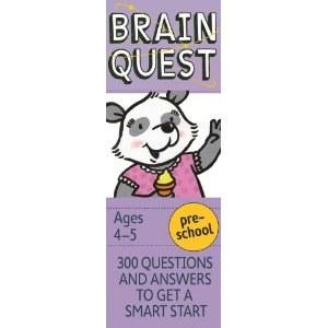 Brain Quest Ages 4-5   4e