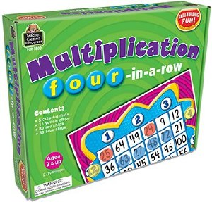 Multiplication 4-in-a-row Game