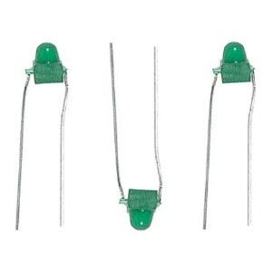 1.5mm LED, Green 12pk