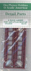 8 RUNG LADDER IMR/ATLAS BOX