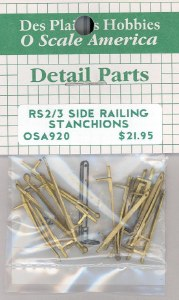 RS2/3 SIDE STANCHIONS