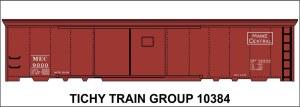 MEC 50' Steel Boxcar