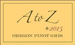 A to Z Oregon Pinot Gris 2015