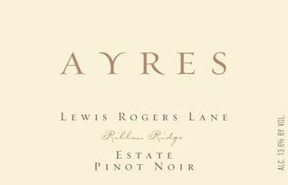 Ayres Pinot Noir Lewis Rogers Lane 2015