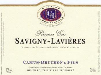 Camus-Bruchon Savigny-Lavieres 1er Cru 2014