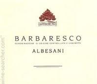Cantina del Pino Barbaresco Albesani 2009