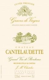 Chateau Cantelaudette Graves de Vayres Blanc 2014