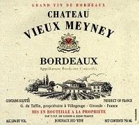 Chateau Vieux Meyney Bordeaux 2016