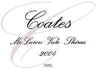 Coates Shiraz 2004