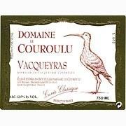 Domaine le Couroulu Vacqueyras 2010
