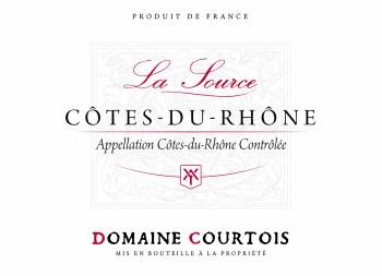 Domaine Courtois Cotes du Rhone La Source 2016