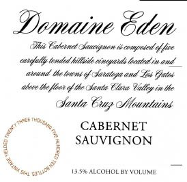 Domaine Eden Cabernet Sauvignon 2014