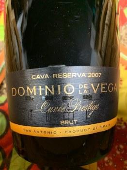 Dominio de la Vega Cava Reserva Cuvee Prestige Brut 2007