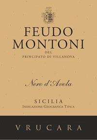Feudo Montoni Vrucara Nero d'Avola 2012