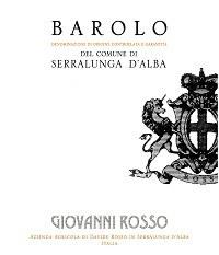 Giovanni Rosso Barolo Serralunga 2013