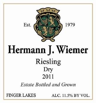 Hermann J Wiemer Dry Riesling 2011