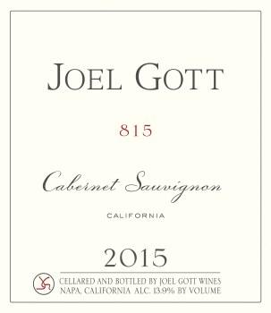 Joel Gott Cabernet Sauvignon 2015