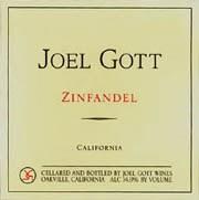 Joel Gott Zinfandel 2015