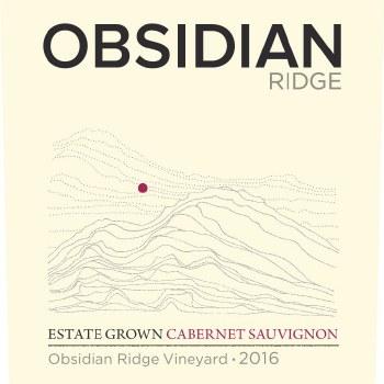 Obsidian Ridge Cabernet Sauvignon 2016
